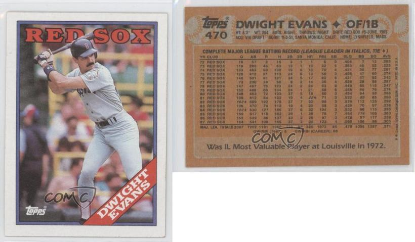 1988 Topps Chewing Gum Baseball Cards Value Cardfssnorg
