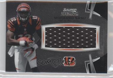 2012 Bowman Sterling #BSJRRMS - Mohamed Sanu JSY - Courtesy of COMC.com