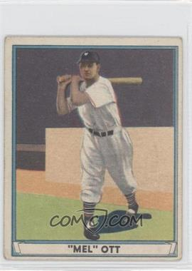 1941 Play Ball #8 - Mel Ott [Good to VG‑EX] - Courtesy of COMC.com