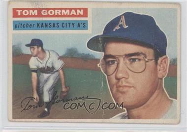 1956 Topps #246 - Tom Gorman - Courtesy of COMC.com