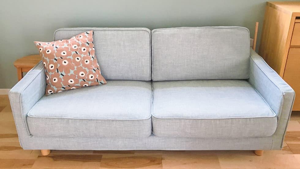 muji slim arm sofa covers comfort works
