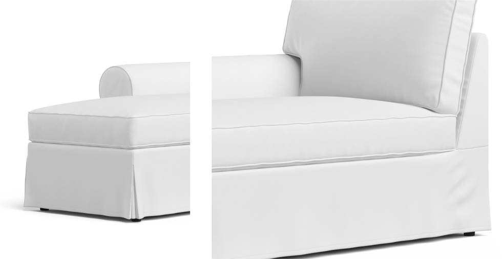 Ektorp Chaise Lounge Left Cover Comfort Works
