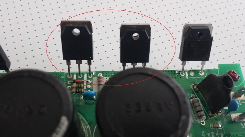 reparer carte electronique tapis roulant