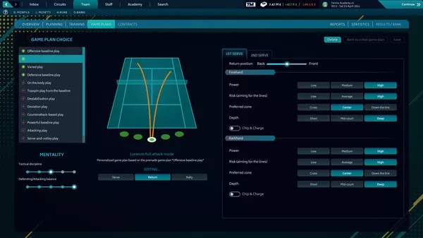 Tennis Manager 2021 (2021) PC Game