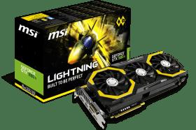 MSI GTX 980 Ti LIGHTNING 顯示卡 / 專為LN2預備的基石