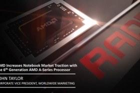 AMD於筆記型電腦市場大放異彩