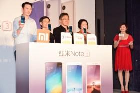 紅米Note 3明起3/23開賣高配6499元 / 金屬機身 指紋辨識