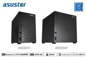 華芸科技推出超值入門四核心 AS3202T 及 AS3204T 桌上型 NAS