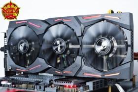 ASUS ROG Strix GTX 1080 顯示卡實測分享 / 效能大躍進 4K遊戲更勝以往