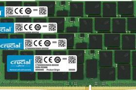 Crucial DDR4 2666MT/s DIMM 大幅提升伺服器效能