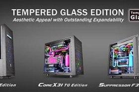 曜越全新Core X71.Core X31.Suppressor F31 鋼化玻璃版直立式開窗機殼