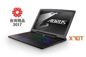 第25屆台灣精品獎 AORUS X 7 DT 榮獲肯定
