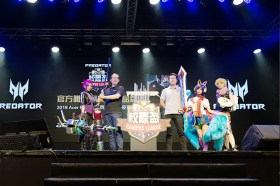 FUN暑假 宏碁新品強勢襲台 Acer Predator冠名英雄聯盟