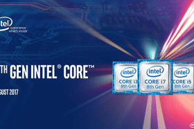 最新第8代Intel® Core™處理器初登場 核心數增加 效能大躍進