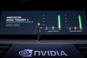 NVIDIA TensorRT 3大幅加速超大規模資料中心的 AI推論