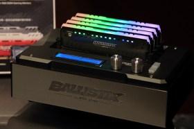 美光旗下通路品牌推出 Crucial® MX500 固態硬碟與 Ballistix® Tactical Tracer RGB 記憶體