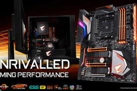 技嘉發表AORUS X470系列電競主機板 支援AMD 最新AM4平台架構處理器