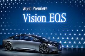 2019法蘭克福車展 賓士Vision EQS 電動車首度亮相
