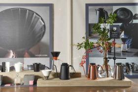 職人手沖咖啡進駐忠泰美術館 日系家電amadana邀大家來體驗新款清淨機與咖啡器具