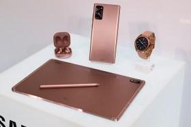 三星發表Galaxy Buds Live耳機、Galaxy Watch 3以及Galaxy Tab S7平板 (實機照片)