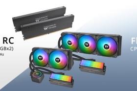 全球首創記憶體與水冷科技結合 曜越發表Floe RC360 / RC240記憶體及CPU一體式水冷散熱器