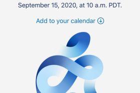 蘋果將於9/15進行線上發表會這些產品將有望亮相!