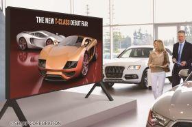 夏普推出業界最大120吋8K液晶顯示器