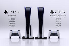 PS5售價、上市日期與詳細規格大公開!11/12開賣數位版售價美金399.99起