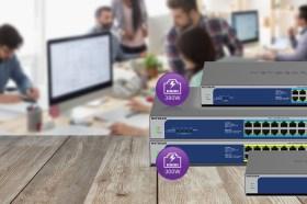 NETGEAR推出四款最新無網管PoE交換器 大功率滿足IoT智慧應用供電需求