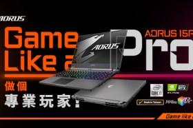 技嘉 AORUS專業電競筆電 AORUS 15P全新上市