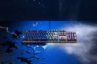 遊戲玩家照過來!ROG獨創光學紅軸鍵盤Strix Scope RX問世
