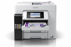 Epson全台首創速度最快「四色防水」A4連續供墨複合機新登場