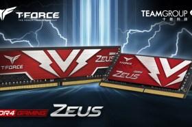 十銓科技推出 ZEUS 系列桌上型與筆記型電腦用電競記憶體