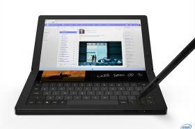 Lenovo發布全球首款摺疊式螢幕和5G連網筆電