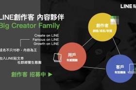 LINE宣布正式啟動『Big Creator.LINE創作客』夥伴計畫