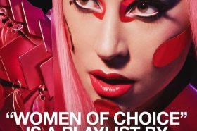 Lady Gaga為Apple Music推出個人精選歌單<Women of Choice>上線