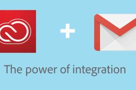 Adobe 與 Google Cloud 宣佈推出適用於 Gmail 的 Creative Cloud 整合工具