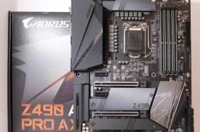 開箱 / 超強的擴充能力 技嘉 Z490 AORUS RPO AX 主機板