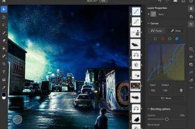快來學!! Adobe Photoshop on iPad 新增曲線及筆刷敏感度調整功能