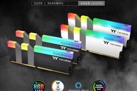 曜越TOUGHRAM RGB 64GB 高容量電競記憶體魅力登場