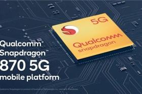 不只有888!高通推出Snapdragon 870 5G 行動平台