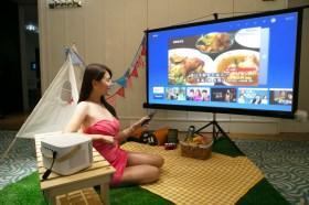 獲momo智慧投影機銷售冠軍!OVO無框電視K1攜手燦坤、特力屋搶過年商機