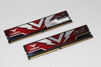 DDR4 3200起跳時代來臨!十銓T-FORCE ZEUS DDR4-3200電競超頻記憶體開箱評測