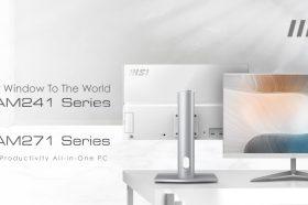 微星推出超時尚美型AIO電腦!兩款尺寸ModernAM241 & Modern AM271任君挑選