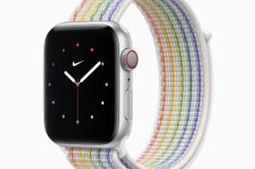 國際不再恐同日!Apple 首次推出全新的Apple Watch彩虹版錶帶和生動的錶面