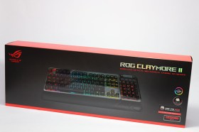 華碩ROG CLAYMORE II 光軸電競鍵盤開箱分享