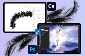 Adobe 推出iPad 版Photoshop自訂筆刷與Photoshop Express相片修飾功能