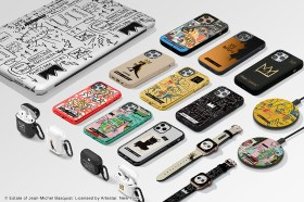 CASETiFY 致敬傳奇塗鴉藝術家 Jean-Michel Basquiat!首推油畫布手機殼重現畫作紋理