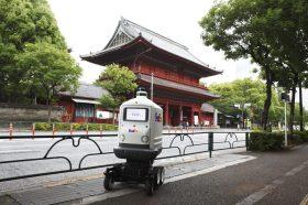 機器人送貨簽收最安心!FedEx SameDay Bot自動送貨機器人Roxo日本亮相