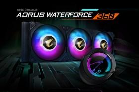 技嘉推出新款AORUS WATERFORCE系列一體式水冷散熱器